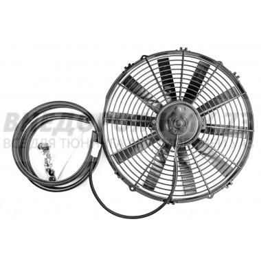 Электровентилятор радиатора электрический для УАЗ IP67