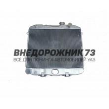 """Радиатор охлаждения УАЗ 3160 """"NOCOLOK"""" (ШААЗ) 31608А-1301010 алюминевый"""