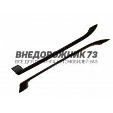 Рейлинги на крышу УАЗ-Пикап (ст/пластик)