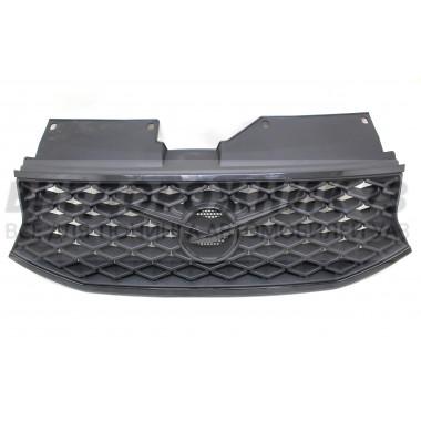Облицовка радиатора Патриот с 2019 г.в. (с АКПП) Черный металлик