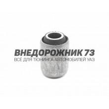 Шарнир резинометаллический (сайлентблок) рессоры УАЗ-3163,Патриот (цельный)