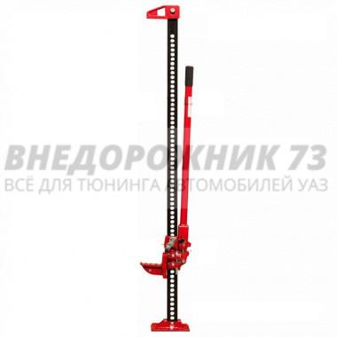 """Домкрат реечный """"RedBTR"""" 60"""" 3 тонны (чугун) подъем 130-1350мм"""
