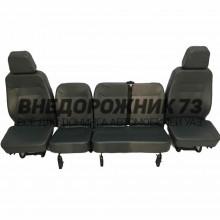 Комплект сидений УАЗ 3151,Хантер « ЛЮКС»