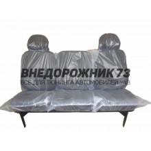 Сиденье заднее мягкое тройное УАЗ 3151,469