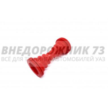 Трубка защитная провода передней двери (силиконовая) красная
