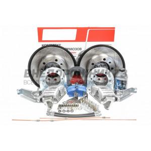 В продажу поступили дисковые тормоза УАЗ 3163 Патриот с 2013 г. (с электронной РК) задний мост