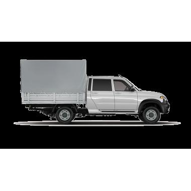 Тент УАЗ Профи  2395х1870 ( Узкий Короткий )