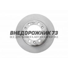 Диск тормозной передний УАЗ ПРОФИ (6 отверстий)