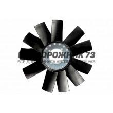 Вентилятор в сборе под гидромуфту 11 лопастей (пластмассовый)