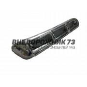 Воздухозаборник «ПАТРИОТ-ЛЮКС» с защитной решеткой (хром)
