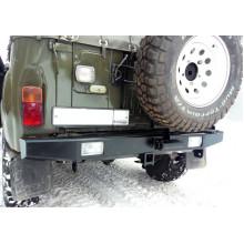 Бампер задний на УАЗ 469, 3151, Хантер с квадратом под фаркоп и калиткой Вездеход