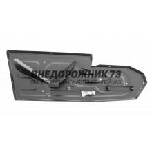 Защита бензобака УАЗ ПРОФИ (сталь 3мм)