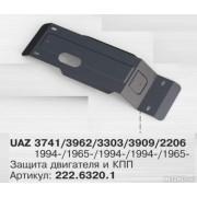 Защита картера и КПП UAZ 3303/3909/3741 (Автоброня)