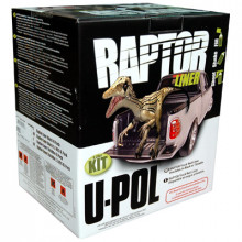 Защитное покрытие RAPTOR™ U-POL чёрный (коробка 4+1)