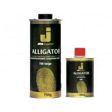 Защитное покрытие ALLIGATOR (0,75+0,25 кг) черный